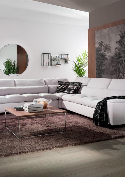 sofa esquinero blanco Luxury mimma gallery