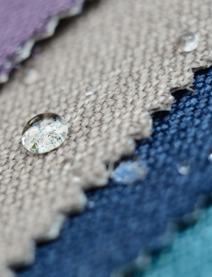Distintos tejidos para sofás a medida en Mimma Gallery