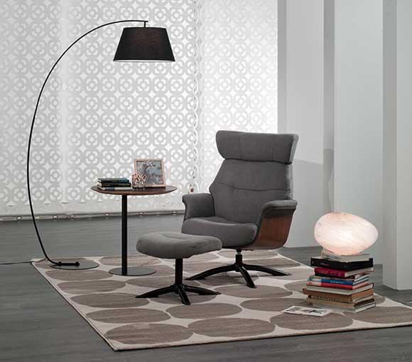 sillón relax gris sound