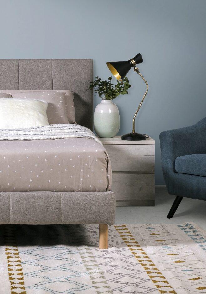 dormitorio decoración cama neru