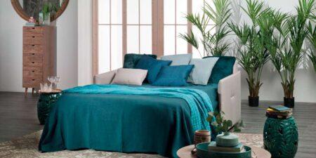 Decoración Dormitorio sofá cama blanco ipala mimma gallery