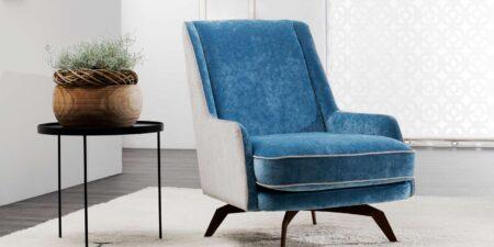 Sillón azul muscari mimma gallery