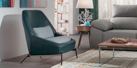 sillón de piel logan mimma gallery
