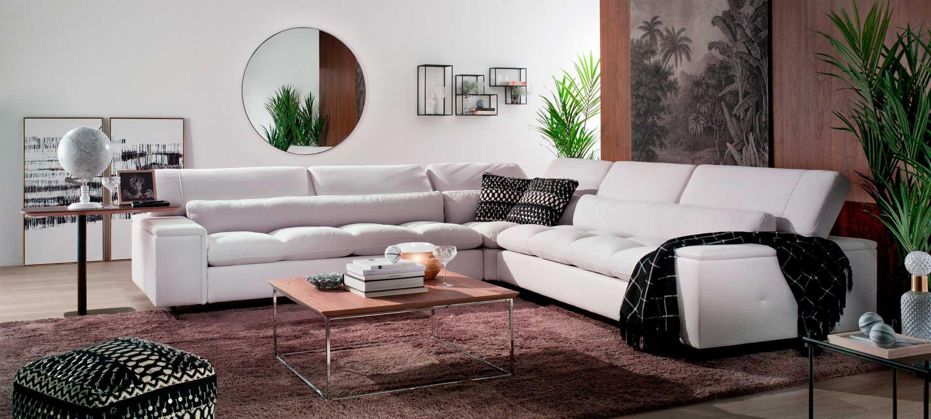 sofa esquinero blanco cianita