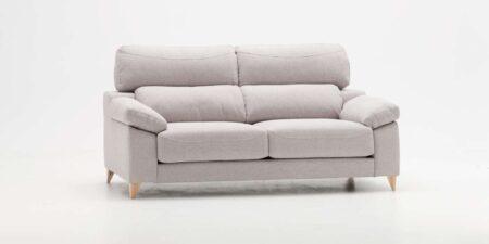 sofá dos plazas beige misuri mimma gallery
