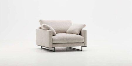 sillón fijo beige emotion mimma gallery