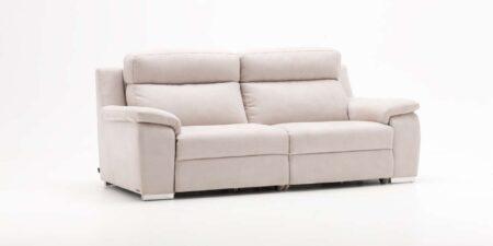 sofá blanco dos plazas caraz de mimma gallery