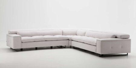 sofá rinconera blanco luxury mimma gallery