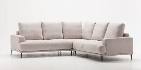 sofá rinconera beige flamenco mimma gallery