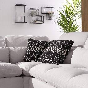 detalle sofá esquinero luxury