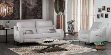 decoración salón sofá gris orizaba mimma gallery