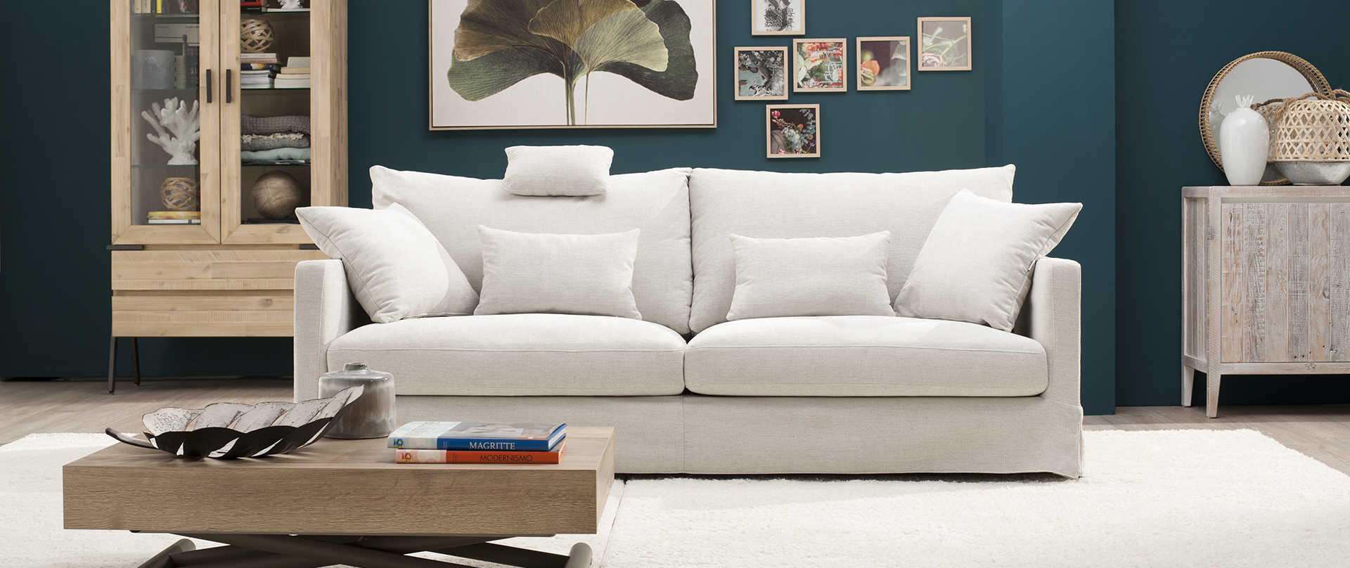 Talk Blanco Sofa